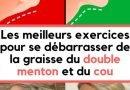 6 conseils pour se débarrasser du double menton