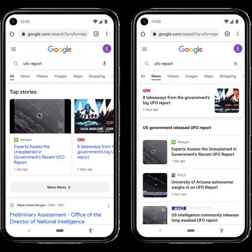 Google est à l'écoute des utilisateurs et présente une série d'actualités